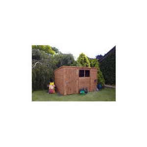 Photo of Walton 10' X 6 Wooden Shiplap ' Pent Shed Shed
