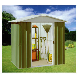 Yardmaster 6' x 4' Metal Apex Shed Reviews