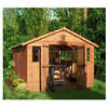 Photo of Walton 16 X 10 Wooden Shiplap Apex Workshop Shed Shed