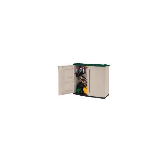 Keter Horizontal Plastic Storage Cupboard
