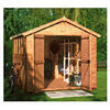 Photo of Walton 10' X 8' Wooden Apex Shiplap Workshop Shed Shed