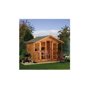 Photo of 8 X 8 Wooden Shiplap Summer House Shed