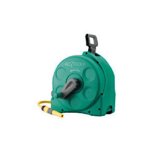Photo of Hozelock 25M Compact Enclosed  Reel 2 In 1 Garden Equipment