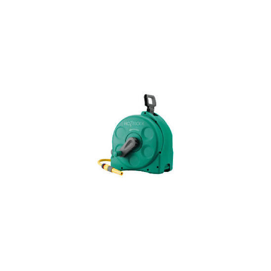 Hozelock 25m Compact Enclosed  Reel 2 in 1