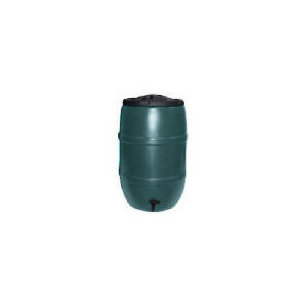 Photo of 210L Barrel Waterbutt With Childproof Lid, Connector Kit & Tap Garden Equipment