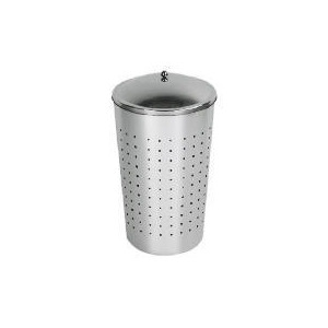 Photo of Tesco 40LTR Conical Laundry Bin Bin