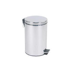 Photo of Tesco 12L Stainless Steel Pedal Bin Bin