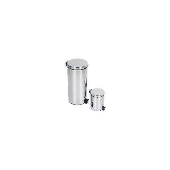 Tesco 30L & 5L Pedal bin set