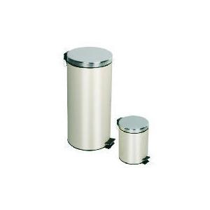 Photo of Tesco 30L and 5L Coating Push Bin Cream Bin
