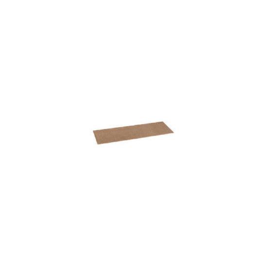 Tesco plain washable runner 57X180cm biscuit