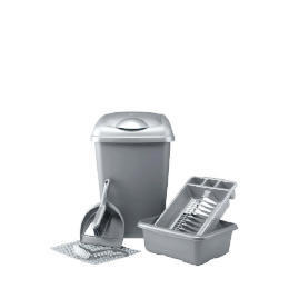 Kitchen set silver 6 piece Reviews