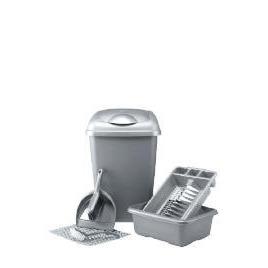 Kitchen set silver 6 piece Reviews