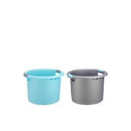 Tesco Uni Tub Silver & Aqua 2 pack Reviews