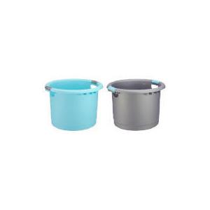 Photo of Tesco Uni Tub Silver & Aqua 2 Pack Household Storage