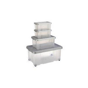 Photo of Tesco 4 Pack Puzzle Box Set Household Storage