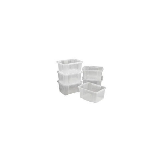 6 pack 30L stack & stores clear