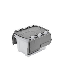 Tesco 40L Flip lid box 3 pack Reviews
