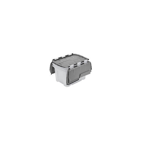 Tesco 40L Flip lid box 3 pack