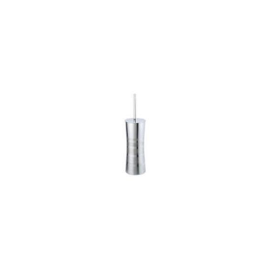 Tesco Stainless Steel Toilet Brush Stripe