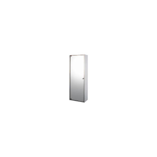 Stainless Steel 3 Tier Mirrored Door Bathroom Cabinet