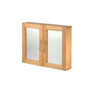 Photo of Brampton Natural Pine Effect Double Door Bathroom Cabinet Household Storage