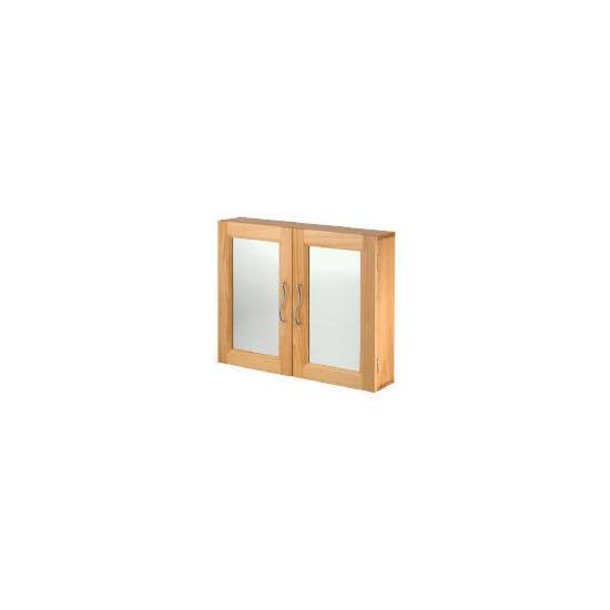Brampton Natural Pine Effect Double Door Bathroom Cabinet