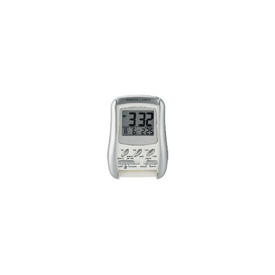 LC Digital folding alarm clock