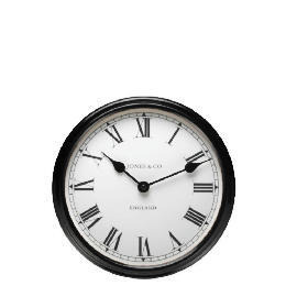 Jones & Co Piccadilly Black Wall Clock Reviews