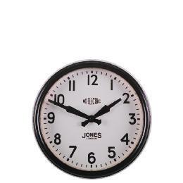 Jones & Co Appollo Black wall clock Reviews