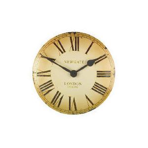 Photo of Newgate Vex Cream Wall Clock Clock