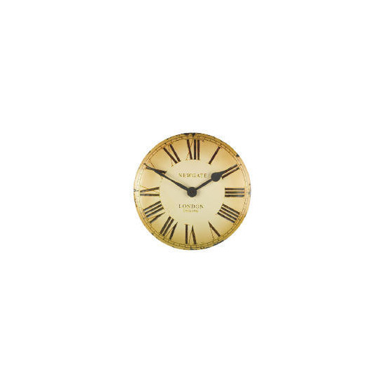 Newgate Vex Cream Wall Clock