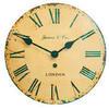 Photo of Jones & Co Tin Convex Wall Clock Home Miscellaneou