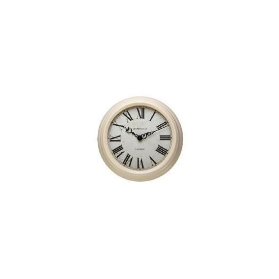 Jones & Co Savoy Cream Wall Clock
