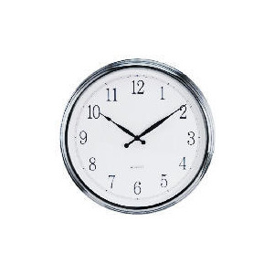 Photo of LC Silver Large Wall Clock Home Miscellaneou
