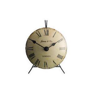 Photo of Jones & Co Mini Vex Mantle Clock Clock
