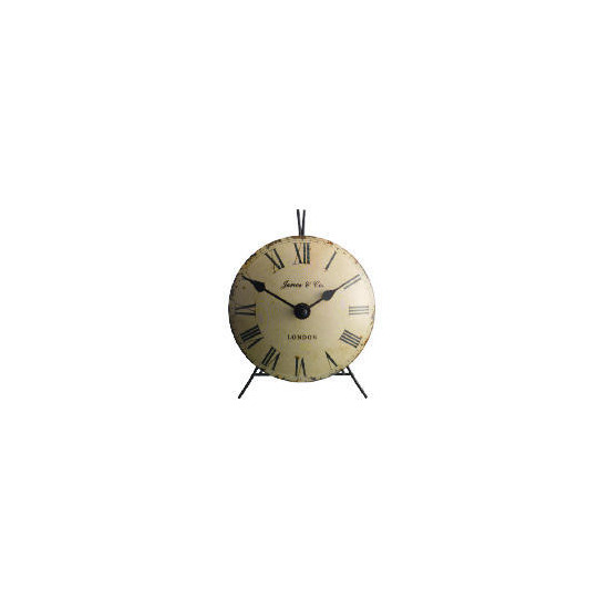 Jones & Co Mini Vex Mantle Clock