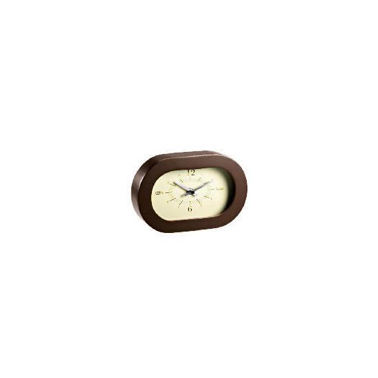 LC Retro Contemporary Brown Mantle clock