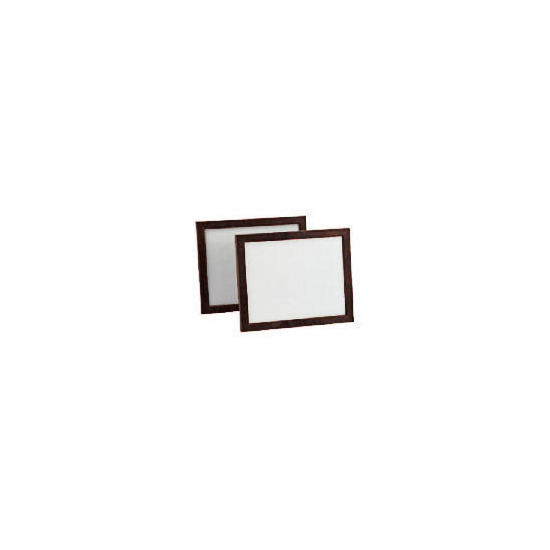 Backloader Frame Twin Pack 20x25cm, Brown