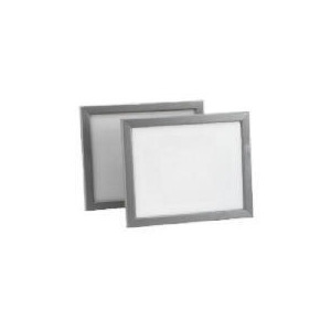 Photo of Backloader Frame Twin Pack 20X25CM, Silver Effect Home Miscellaneou