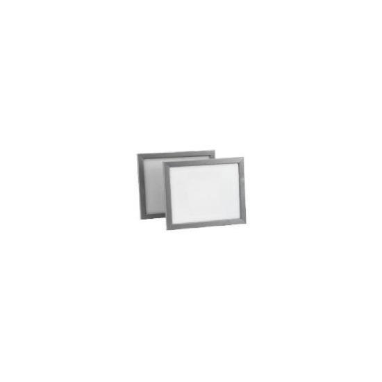 Backloader Frame Twin Pack 20x25cm, Silver Effect