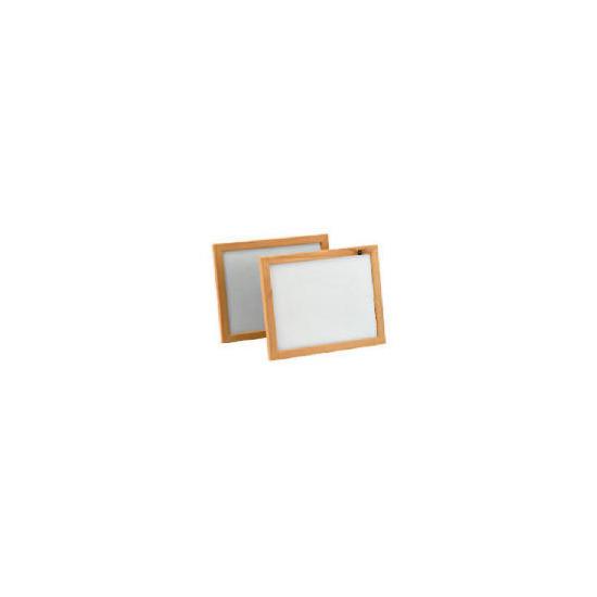 Backloader Frame Twin Pack 20x25cm, Beech Effect