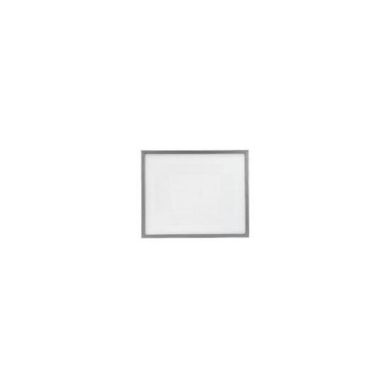 Backloader Frame 40x50cm, Silver Effect
