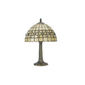 Photo of Art Noveau Glass Table Lamp Lighting
