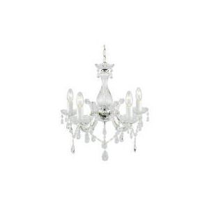 Photo of Maria Therese Five Light Ceiling Fitting Chrome Lighting