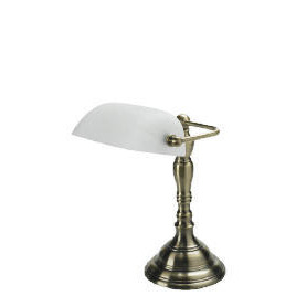 Alabaster & Antique Brass effect Desk Lamp Reviews