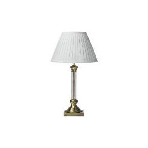 Photo of Glass Column Table Lamp Lighting