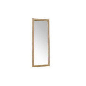 Photo of Tesco Oak Bevelled Mirror 42X100CM Home Miscellaneou