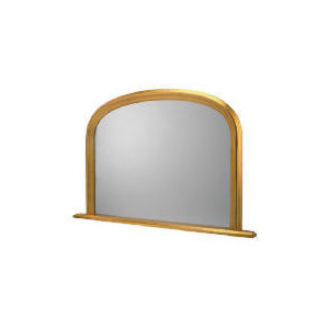 Photo of Arch Overmantle Mirror 77X117CM Home Miscellaneou