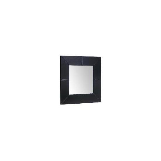 Tesco Faux Leather Mirror 50x50cm