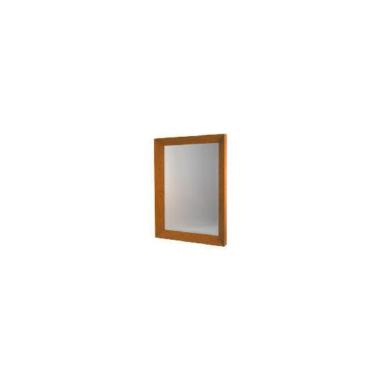 Oak Veneer Mirror 74x104cm